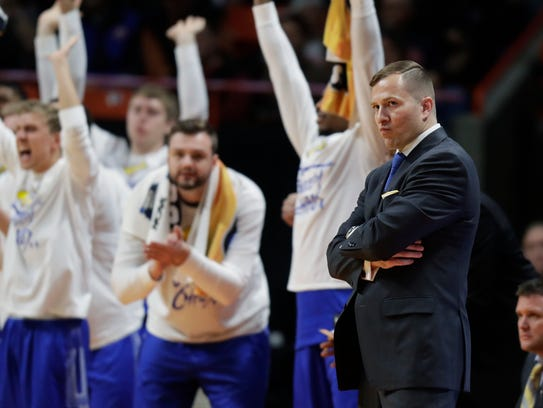 South Dakota State coach T.J. Otzelberger will help Mike Daum develop his game for the NBA while guiding the Jacks' pursuit of a fourth straight NCAA tournament berth.