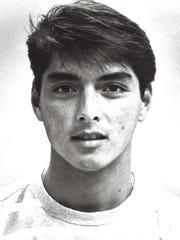 Fred Mendiola Jr. Sport: SurfingPhoto archive date Aug, 19, 1990.