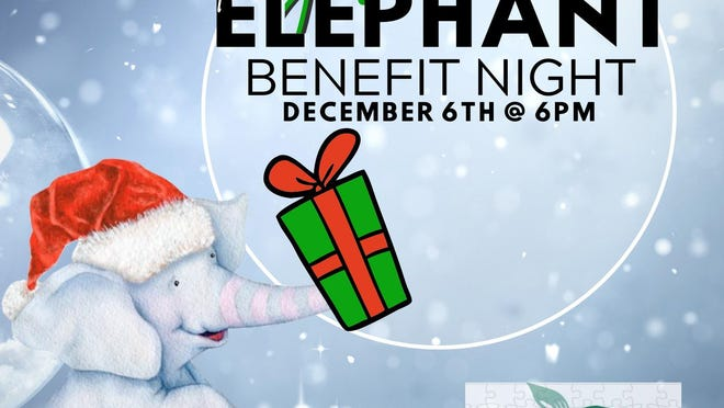 "A ""Green Elephant Benefit Night"" for Greenbriar Children's Center will be at 6 p.m. Dec. 6 at the Grand Lake Club, 815 Southbridge Blvd."