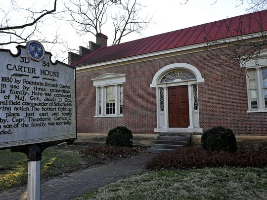 About 40,000 visitors a year come to theCarter House in Franklin.