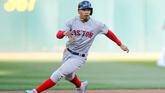 Mookie Betts' derring-do on the basepaths can only boost the Red Sox's offense so much.