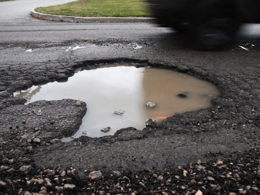 IndyStar stock pothole stock potholes stock infrastructure
