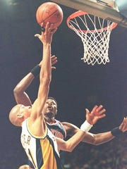 Four days earlier, in Game 1 of the 1995 Eastern Conference