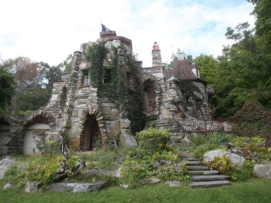 The exterior of Wing's Castle in Millbrook Sept. 14, 2017.