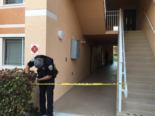 Port St. Lucie police investigate a reported homicide