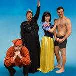 """Kevin Nickens, Debbie Frost, Dorothea Syleos and Anthony Coons are """"Vanya and Sonia and Masha and Spike"""" at Theatre Tallahassee, opening this weekend."""