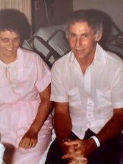 Carl Robinson, Mercersburg, gave his sister, Joyce
