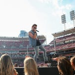 Great American field lost green sheen from Luke Bryan concert but grass is alive, playable