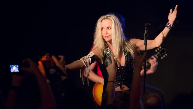 Cherie Currie will perform at Fanboy Expo's Totally Awesome Weekend concert at World's Fair Park on Oct. 6.