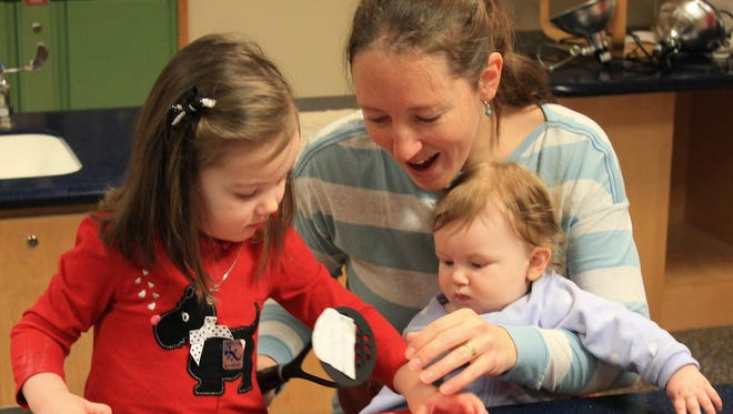 Sciencenter's Science Together program helps young children learn the basics of critical reasoning.