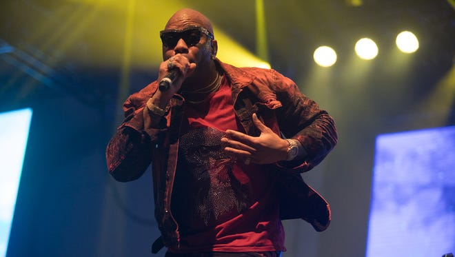 Flo Rida performs at the Coors Light Birds Nest concert series on Wednesday, January 31, 2018, in Scottsdale.