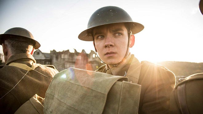 """Asa Butterfield stars as a young British soldier in """"Journey's End."""""""