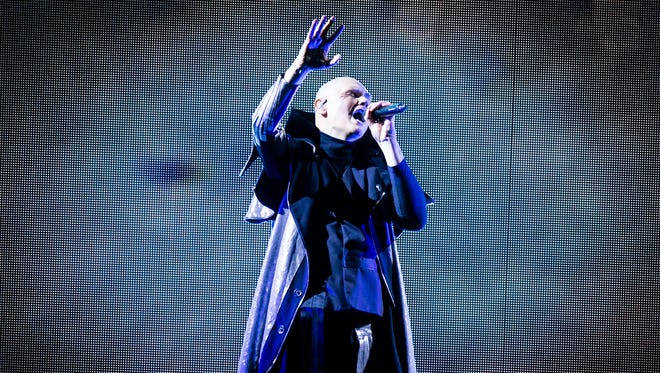 "Smashing Pumpkins kicked off their ""Shiny And Oh So Bright Tour"" at Gila River Arena on Thursday, July 12, 2018 in Glendale."