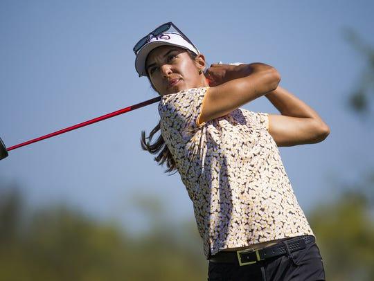 Purdue golfer Paula Reto of South Africa
