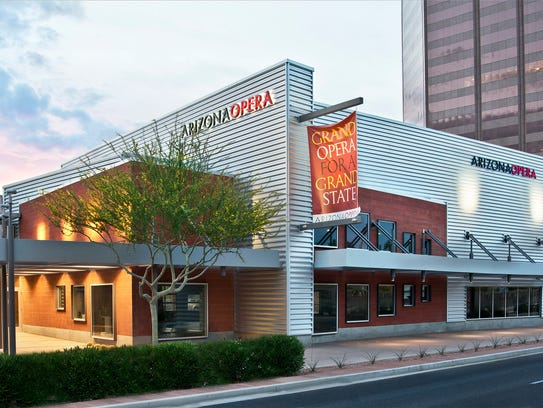The new Arizona Opera Center building.