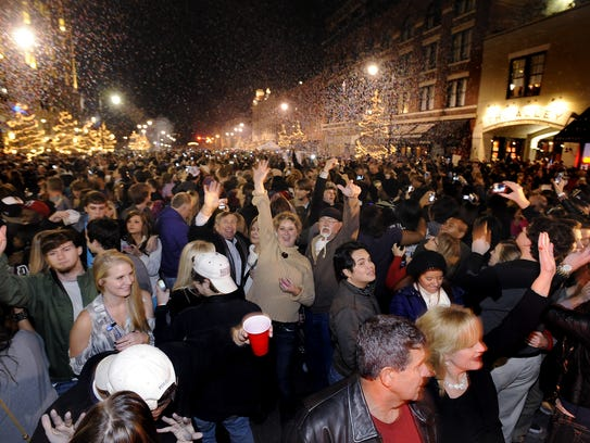 Montgomery could re-institute its downtown open container policy for special events, like the New Year's Eve celebration.