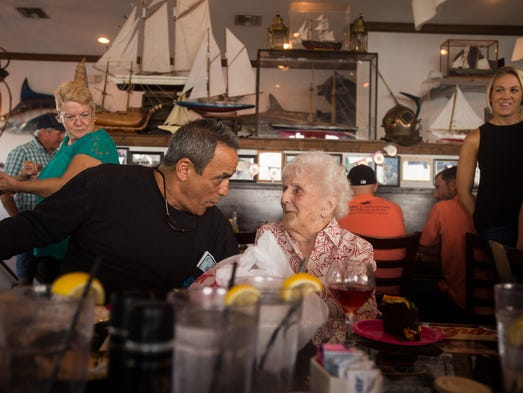 Peter Angelos, of Fort Pierce, who bought Chuck's Seafood