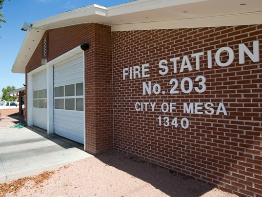 Fire Station 203 in Mesa