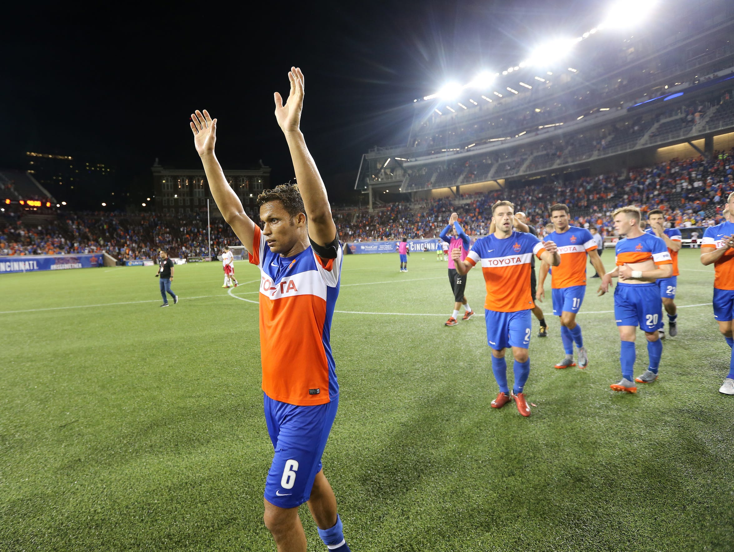 FC Cincinnati has made a strong showing on the field - beating Major League Soccer teams and competing against international squads. And the team has set attendance records for its current league.