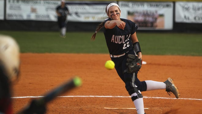 After earning All-Big Bend Pitcher of the Year as a freshman, Aucilla Christian's Elizabeth Hightower missed most of her sophomore season with an ACL tear. Hightower, a Florida commit, is back in the circle this year as the Warriors chase a third straight state title.