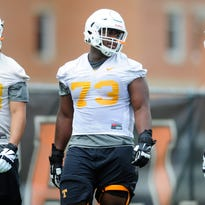 UT Vols spring football: Offensive line will be a position to monitor