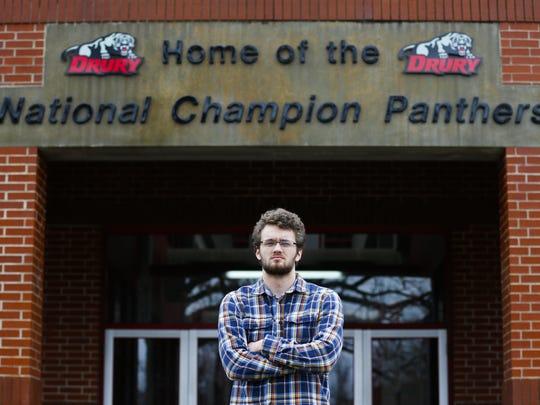 Evan Petrich praised the work of the Drury University