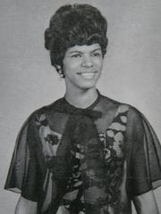 Darlene Tucker Mullins as a freshman at Tennessee State