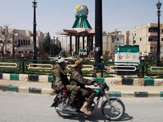 Syrian government forces