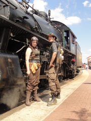 Steampunk unLimited, a three-day festival where science fiction meets steam-powered industrial design, is held at the Strasburg Rail Road.