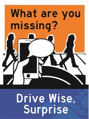 The city of Surprise's Drive Wise campaign features