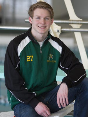 Howell senior Henry Bauer is the Livingston County Swimmer of the Year.