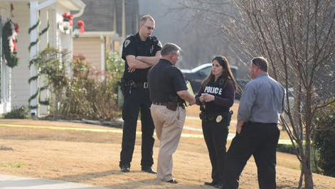 Simpsonville Police responded to a report of a child that was fatally shot in a home on Garfield Lane Monday afternoon.