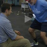 After running for 33 years, Bryan found that the wrong shoe, balance and core strength was causing pain in his knees. See how therapy led Bryan on the right track to running without pain.