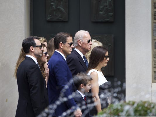 Obamas, Mourners Attend Funeral For Beau Biden