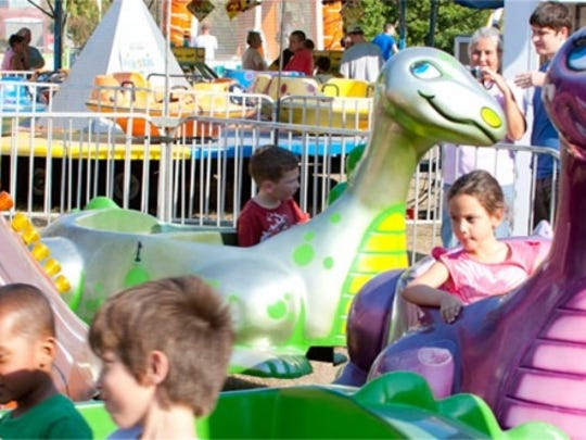 St. Rose of Lima moved up its fall festival this year to ensure it could have more rides, which are one of the most popular attractions at the event.