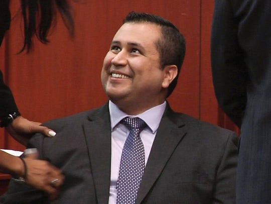 George Zimmerman Verdict Smile