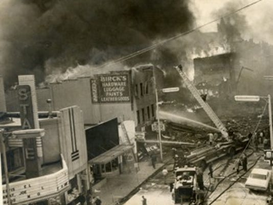 1968 explosion Richmond