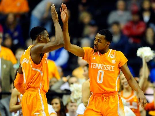 NCAA Basketball: SEC Conference Tournament-Tennessee vs Vanderbilt
