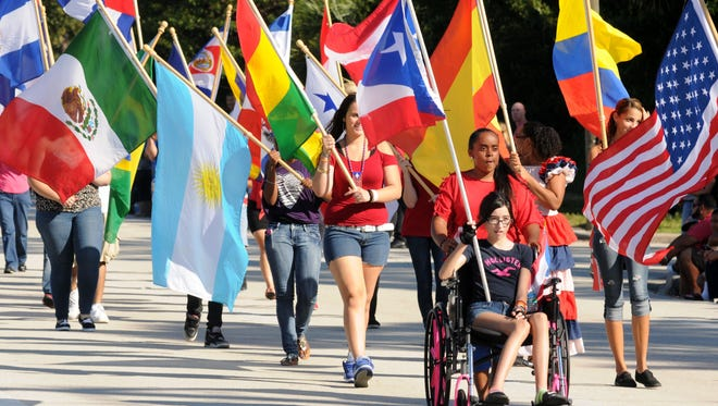 A free festival at Palm Bay City Hall follows the Puerto Rican Day Parade.