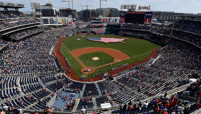 A view of Nationals Park – home of the 2018 All-Star Game.