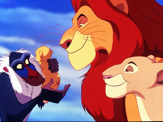 'The Lion King':  Rafiki (played by Robert Guillaume)