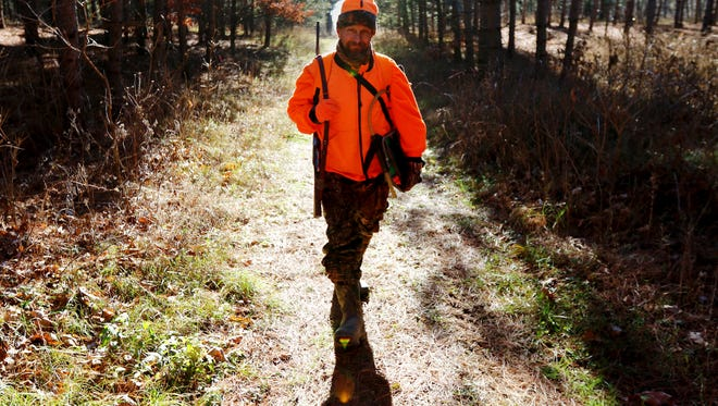 The earliest semi-automatic and air- and gas- powered rifles might be added to certain hunting seasons in Pennsylvania is next April.