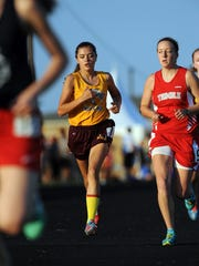 Berne Union sophomore Shayla Pennington was the Mid-State League-Cardinal Division Most Valuable Runner.