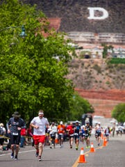 St. George Ironman, Saturday, May 7, 2016.