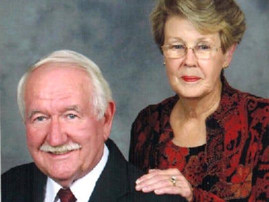 Ron and Harriet Murphy anniversary