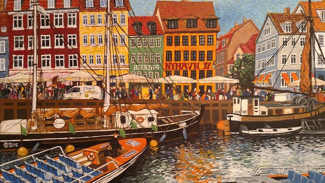 Scene from Denmark by Edmund Dy.