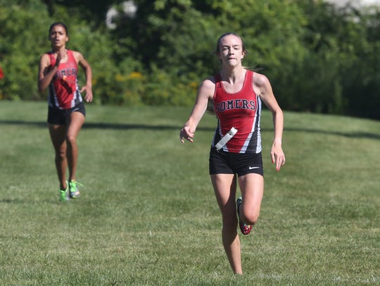 Somers' Elisabeth Van Tassell wins the girls Division