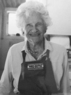 Wilma Ball (97) passed away June 16. She was born in 1917 at The Willows in Kansas City, MO, where Clinton and Adeline Yocum of IL adopted her.