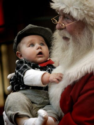 It's time to head out to the mall to get your Santa photos.