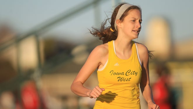 Bailey Nock will lead a healthy West High girls cross country team  Saturday at the state meet.